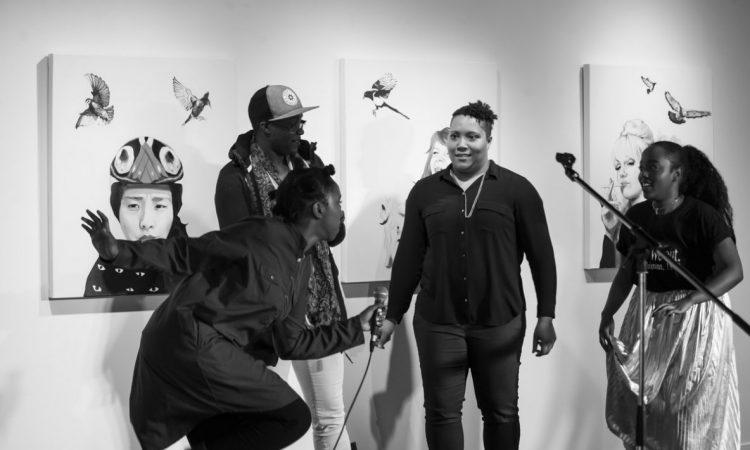 Words Unzipped, Black Girl Magic 2017. Photo by Keanna Hiebert.