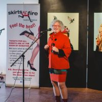 2017 Honorary Skirt Linda Duncan. Photo by Brittany Paige Balser.