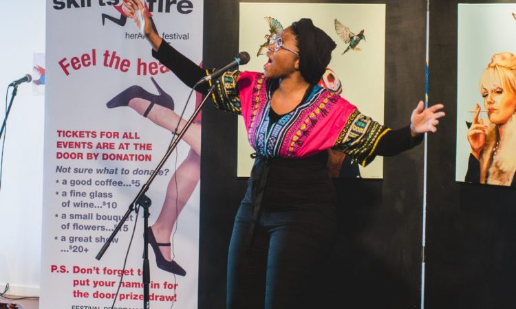 Karimah, SkirtsAfire Media Launch 2017. Photo by Brittany Paige Balser.