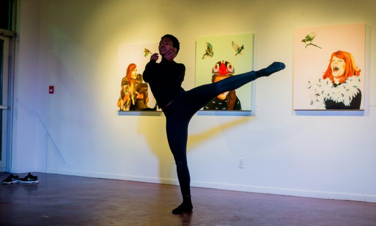 Mpoe Mogale, Words Unzipped 2017. Photo by Brittany Paige Balser