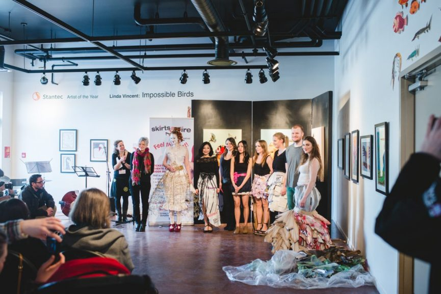Skirt Design Competition, SkirtsAfire Media Launch 2017. Photo by Brittany Paige Balser.