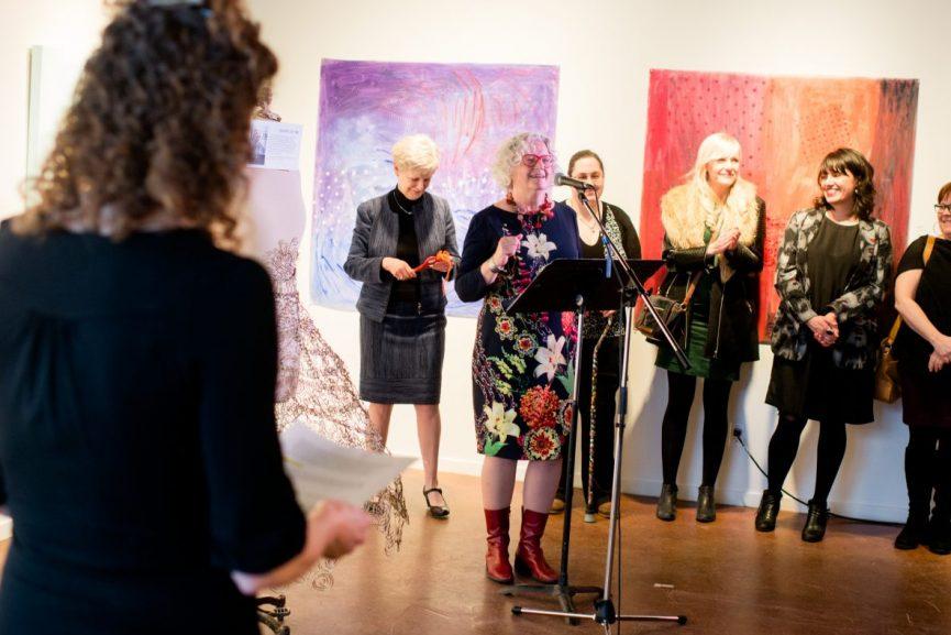 Honorary Skirt Linda Duncan, Opening Ceremonies, SkirtsAfire 2017. Photo by Brittany Paige Balser.