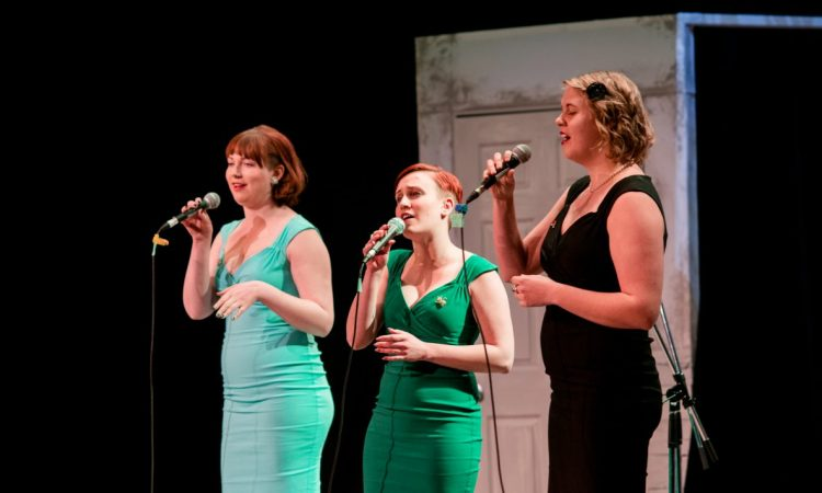The Jivin' Belles, A-Line Variety Show 2017. Photo by Brittany Paige Balser.