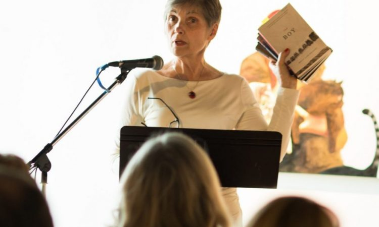 Betty Jane Hegerat, A Place For Prose 2017. Photo by Brittany Paige Balser.
