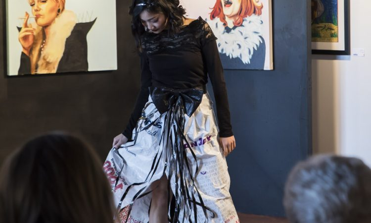 Plastic Bag Princess by Joanne Ngo. Photo by Keanna Hiebert.