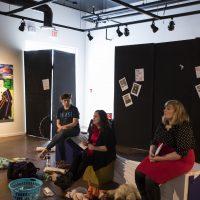 Mari Chartier, Lana Hughes & Ellen Chorley,