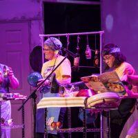 Viajante World Beat Drum Ensemble, A-Line Variety Show 2017. Photo by Keanna Hiebert.