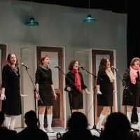 Persistent Sisters, The A-Line Variety Show 2018. Photo by April MacDonald Killins.