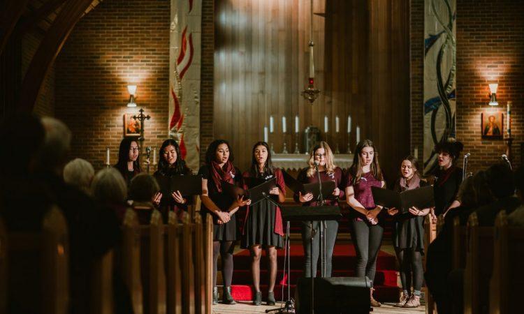Women's Choir Festival 2018. Photo by April MacDonald Killins.