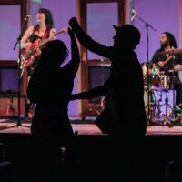 The Kimberley MacGregor Band, Friday Night Dance Party 2018. Photo by April MacDonald Killins.