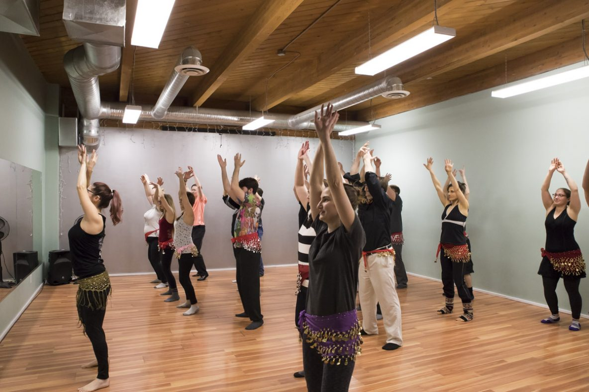 Bellydancing Workshop 2018, Bedouin Beats. Photo by Keanna Hiebert.