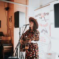 Amy Nelson, SkirtsAfire 2019. Photo by April MacDonald Killins.