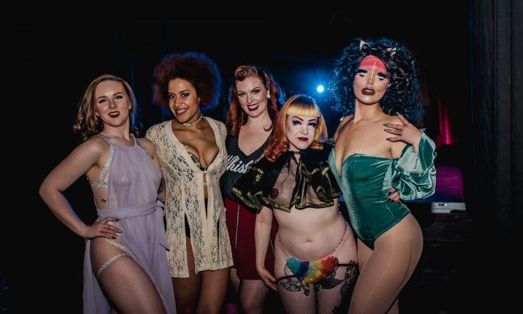 Fruit Loop Performers, SkirtsAfire 2019. Photo by April MacDonald Killins.