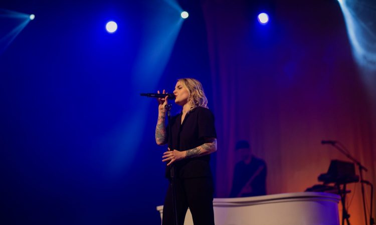Coeur de pirate, SkirtsAfire 2019. Photo by Gallican Buki.