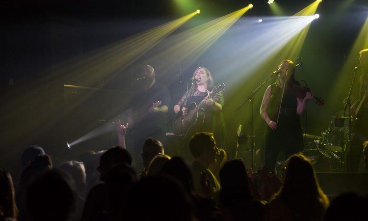 Derina Harvey Band Live at Station on Jasper. Photo by April MacDonald Killins.