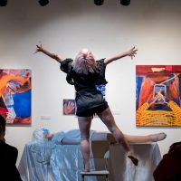 Out of Body Physical Theatre performs in She Moves 2020. Photo by April MacDonald Killins.