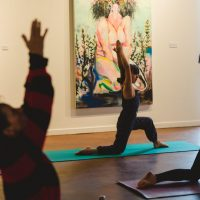 Yoga in the Art 2020. Photo by BB Collective.