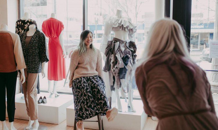 Entropy by Beverly Destroys, Skirt Design Competition 2021. Photo by April MacDonald Killins.
